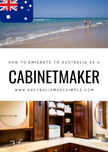 Migrate to Australia as a Cabinetmaker