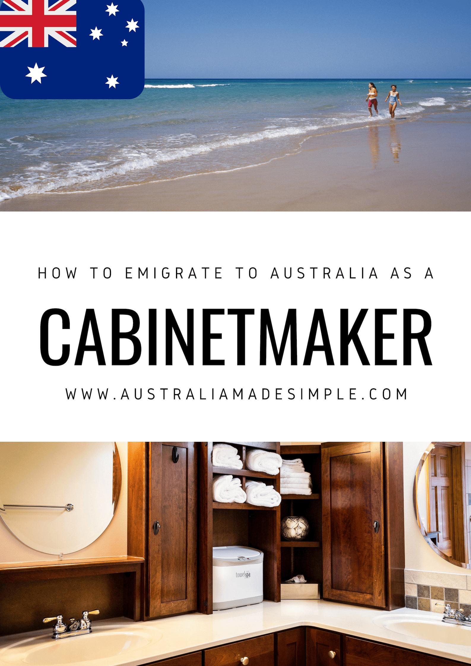 Tremendous Migrate To Australia As A Cabinetmaker Ultimate Guide To Download Free Architecture Designs Pendunizatbritishbridgeorg