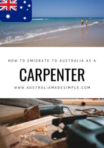Migrate to Australia as a Carpenter