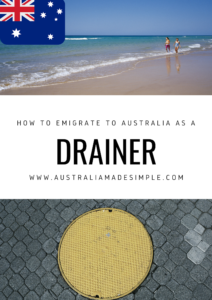 Migrate to Australia as a Drainer