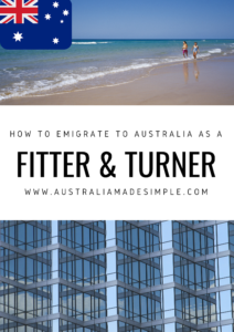 Migrate to Australia as a Fitter and Turner