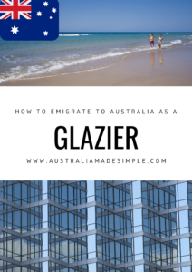 Migrate to Australia as a Glazier