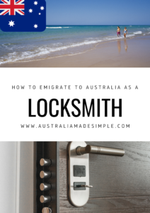 Migrate to Australia as a Locksmith